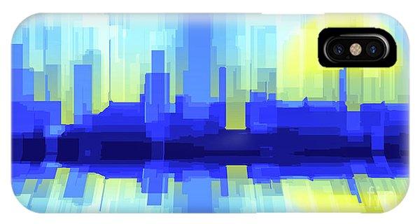 City Sun Silhouette IPhone Case