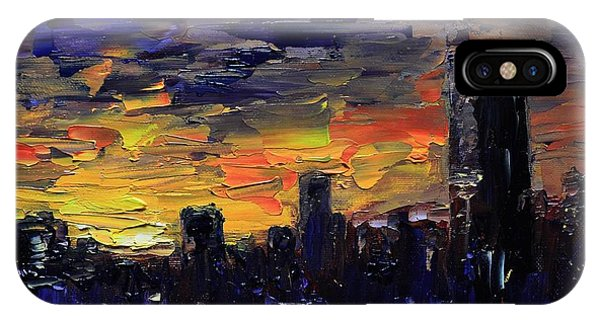 City Sunset IPhone Case
