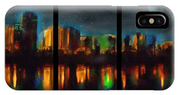 City Under A Blue Moon IPhone Case