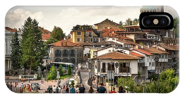 City - Veliko Tarnovo Bulgaria Europe IPhone Case