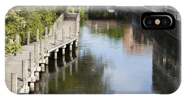 City Waterway IPhone Case