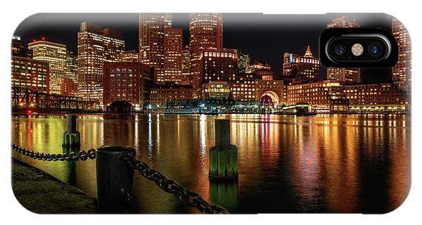 City With A Soul- Boston Harbor IPhone Case