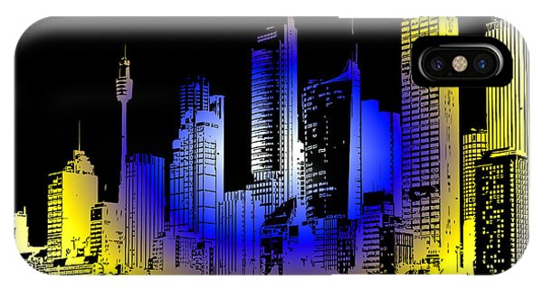 Granite iPhone Case - Cityscape 1 by Evelyn Patrick