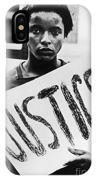 iPhone Case - Civil Rights, 1961 by Granger