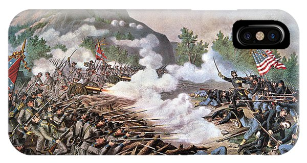 Allison iPhone Case - Civil War, 1864 by Granger