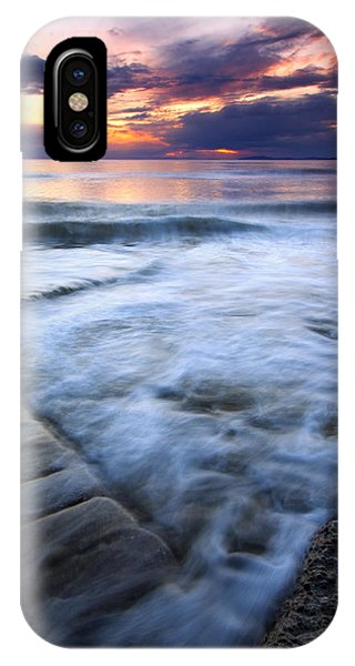 Whidbey iPhone Case - Civilization Forgotten by Mike  Dawson