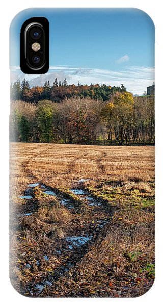 IPhone Case featuring the photograph Clackmannan Tower In Central Scotland by Jeremy Lavender Photography