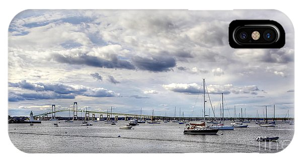 Claiborne Pell Newport Bridge IPhone Case