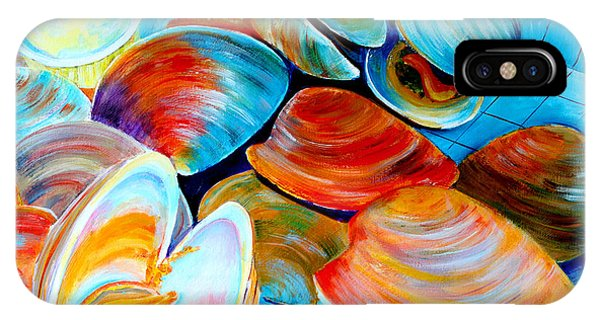 Clams At The Jersey Shore IPhone Case