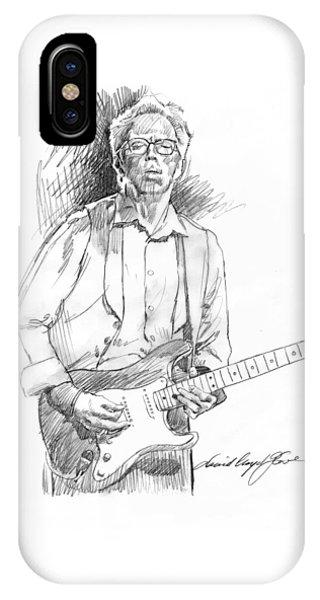 Eric Clapton iPhone Case - Clapton Riff by David Lloyd Glover