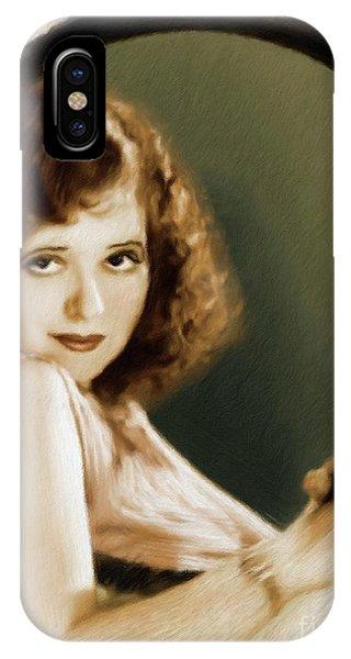 Clara Bow, Vintage Actress IPhone Case