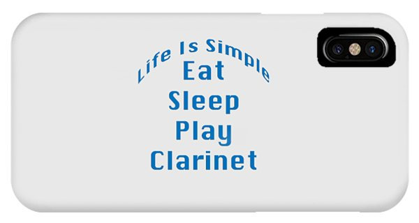 Clarinet Eat Sleep Play Clarinet 5512.02 IPhone Case