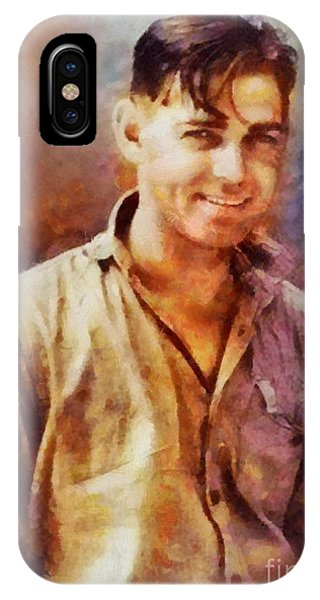 Clark Gable, Vintage Hollywood Actor IPhone Case