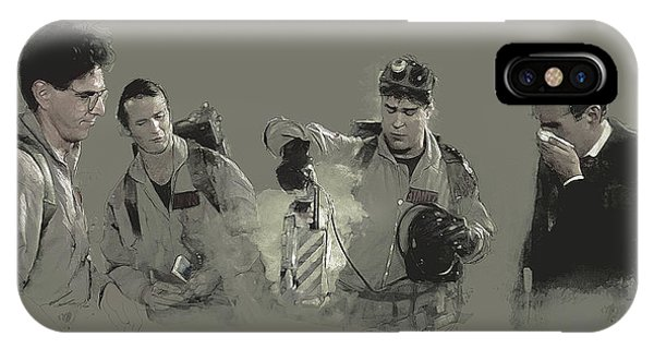 Class 5 Full-roaming Vapor IPhone Case
