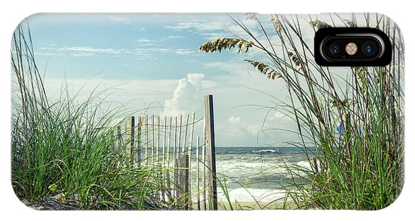 To The Beach Sea Oats IPhone Case