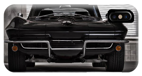 Chevrolet iPhone Case - Classic Black by Douglas Pittman