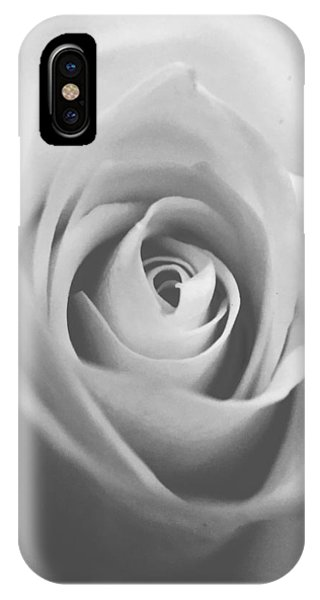 Classic Bw Rose IPhone Case