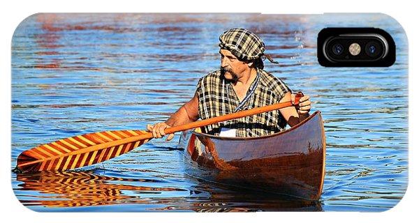 Classic Canoe IPhone Case