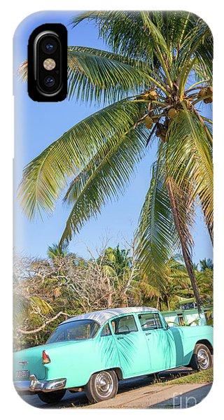 Classic Car In Playa Larga IPhone Case