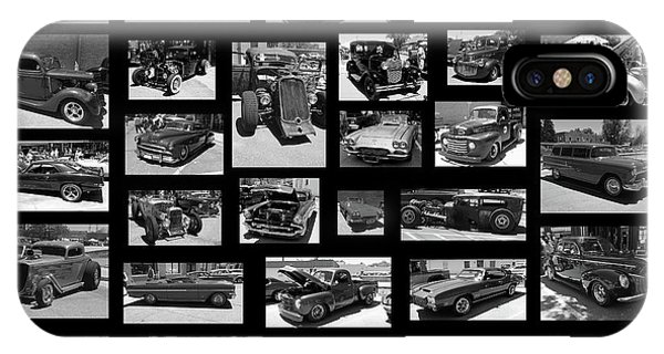 IPhone Case featuring the photograph Classic Cars And Trucks by Angie Tirado