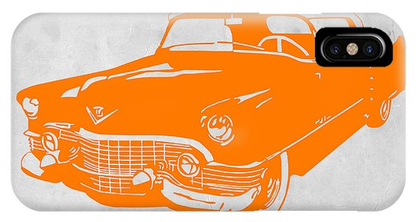 American iPhone Case - Classic Chevy by Naxart Studio
