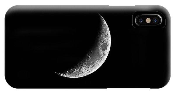 Classic Crescent Cropped IPhone Case