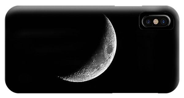 Classic Crescent Cropped IPhone Case