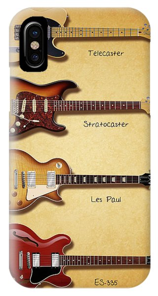 Classic Electric Guitars IPhone Case