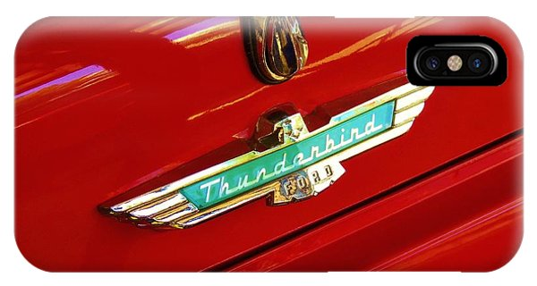 Classic Ford Thunderbird Emblem IPhone Case