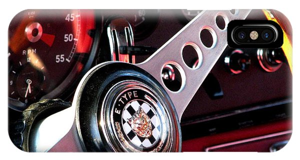 Classic Jaguar E Type 4.2 IPhone Case