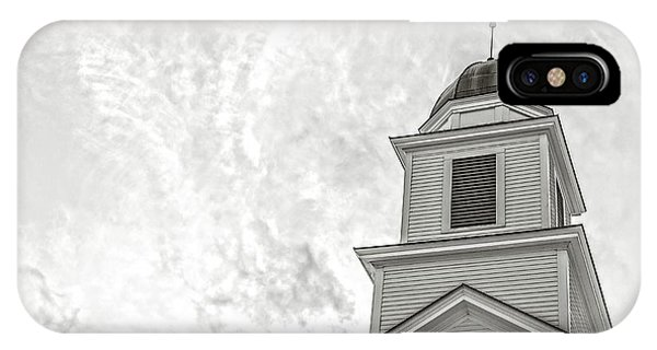 Etna iPhone Case - Classic New England Church Etna New Hampshire by Edward Fielding