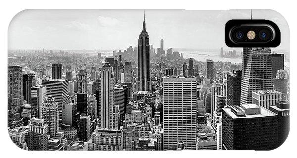 New York City Skyline iPhone Case - Classic New York  by Az Jackson