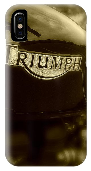 Classic Old Triumph IPhone Case