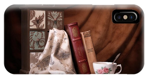 Reading iPhone Case - Classic Reads Still Life by Tom Mc Nemar