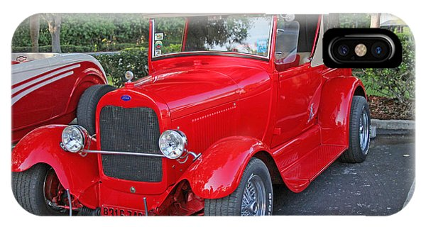 Classic Red Ford Truck IPhone Case