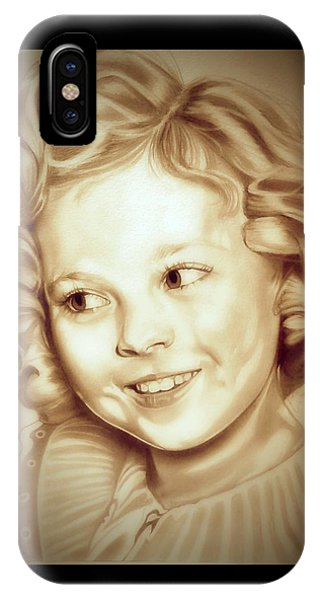 Classic Shirley Temple IPhone Case