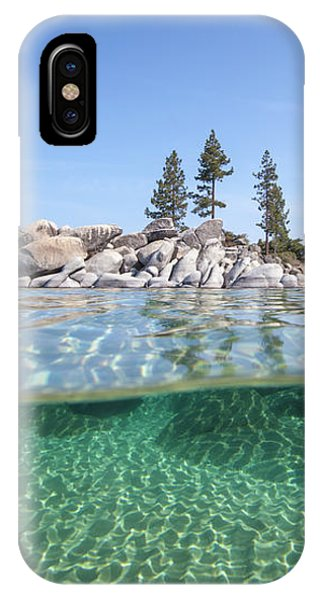 Classic Split By Dylan Silver IPhone Case