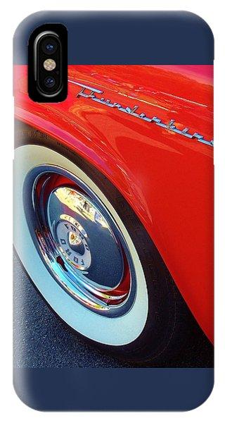 Classic T-bird Tire IPhone Case