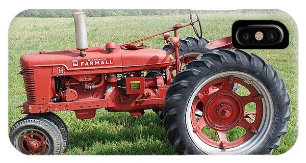 Classic Tractor IPhone Case