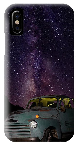 Classic Truck Under The Milky Way IPhone Case