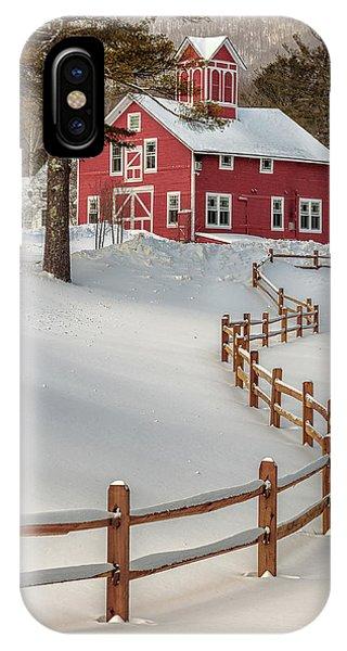 Classic Vermont Barn IPhone Case