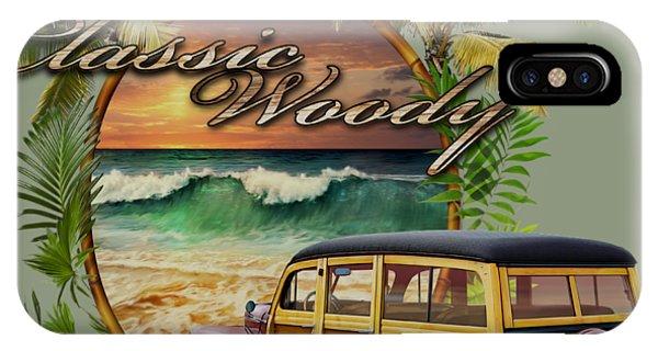 Classic Woody IPhone Case