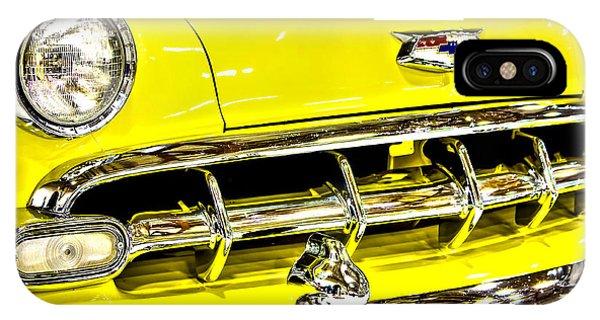 Classic Yellow Chevrolet IPhone Case