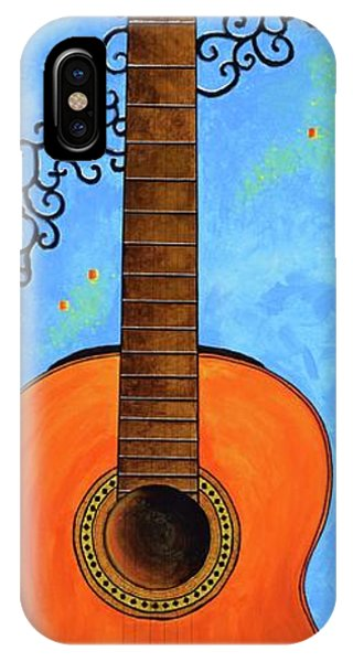 IPhone Case featuring the painting Classical Music by Mary Scott