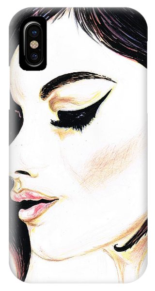 Classy Lady IPhone Case