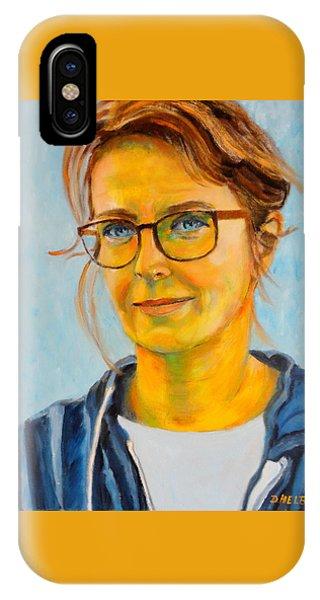 Claudia-portrait IPhone Case