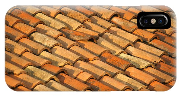 Adobe iPhone Case - Clay Roof Tiles by David Buffington
