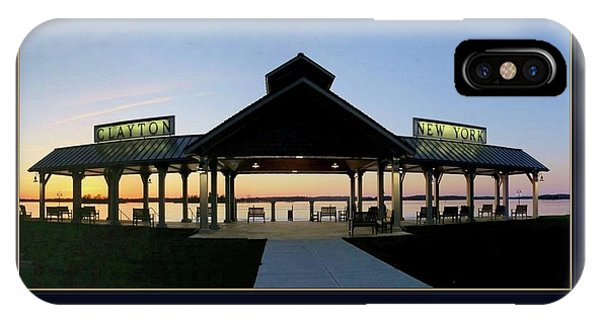 Clayton Pavilion IPhone Case