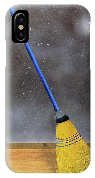 Cleaning Out The Universe IPhone Case