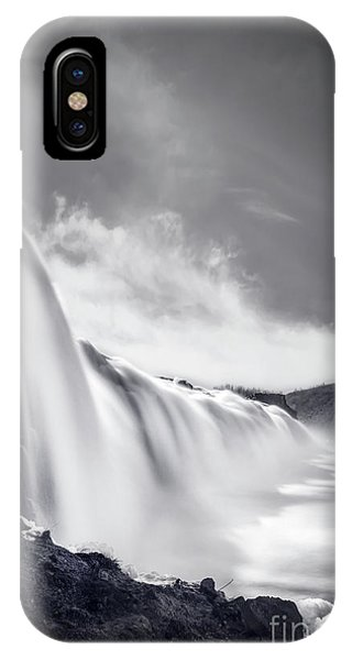 Mono iPhone Case - Cleansing by Evelina Kremsdorf